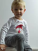 Detské oblečenie - tričko VIANOČNÝ GABO kr/dl rukáv - veľ. od 86 do 128 - 8727988_