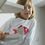 Detské oblečenie - tričko KAPRÍK  kr/dl rukáv - veľ. od 86 do 128 - 8729348_