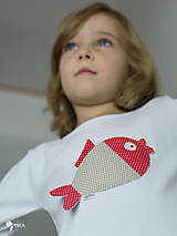 Detské oblečenie - tričko KAPRÍK  kr/dl rukáv - veľ. od 86 do 128 - 8729350_