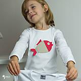 Detské oblečenie - tričko KAPRÍK  kr/dl rukáv - veľ. od 86 do 128 - 8729360_
