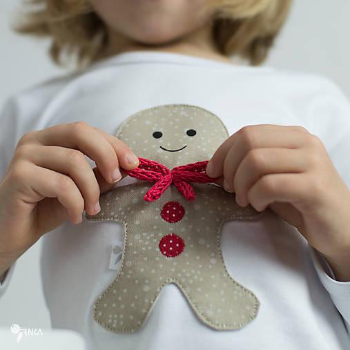 Detské oblečenie - tričko PERNÍK  kr/dl rukáv - veľ. od 86 do 128 - 8727548_