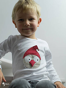 Detské oblečenie - tričko VIANOČNÝ GABO kr/dl rukáv - veľ. od 86 do 128 - 8727993_
