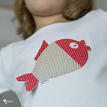 Detské oblečenie - tričko KAPRÍK  kr/dl rukáv - veľ. od 86 do 128 - 8729351_
