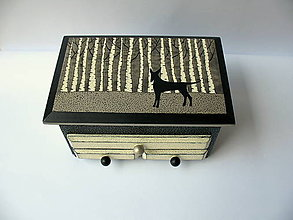 Krabičky - ,,V lese....,, - 8729642_