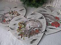 Dekorácie - Srdiečko Čaro zimy - 8729253_