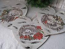 Dekorácie - Srdiečko Čaro zimy - 8729262_