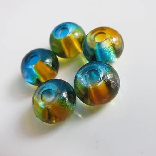 Pandora style vinutky farbené (Tyrkysovožltá)   kamienky - SAShE.sk ... 804f848171c