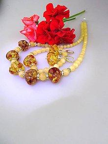 Sady šperkov - kalcit ,