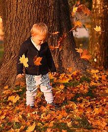 Detské oblečenie - Detské folklórne nohavice