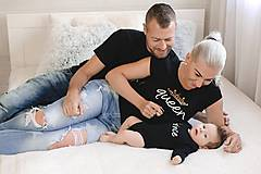 King, Queen, Prince - rodinná sada tričiek