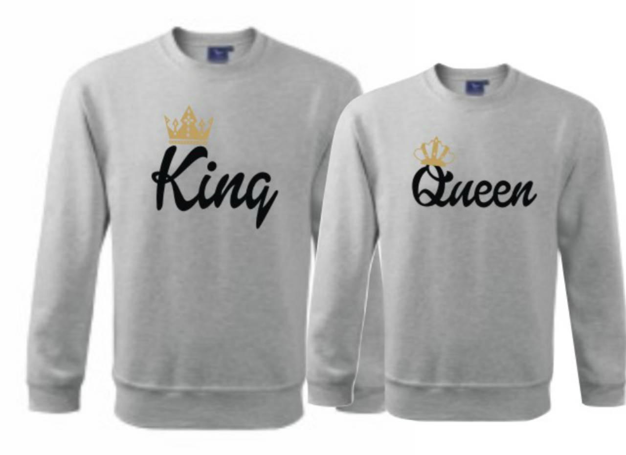 1c8809255 Mikiny - King Queen / trickoland - SAShE.sk - Handmade Mikiny