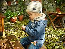 Detské doplnky - Béžový nákrčník - 8725268_
