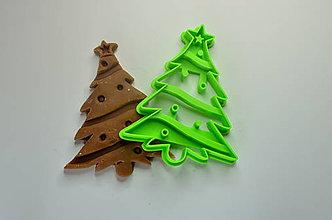 Pomôcky - Vykrajovačka Vianočný stromček - 8725538_
