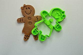 Pomôcky - Vykrajovačka Gingerwoman - 8726191_