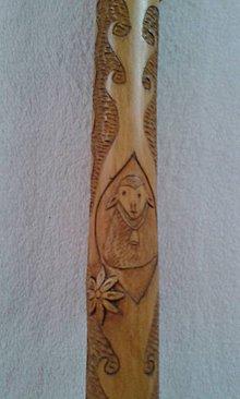 Hudobné nástroje - Bohato zdobená fujarka - 8726063_