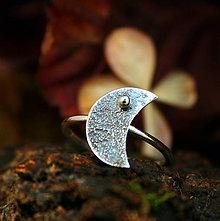 Prstene - Luna - strieborný prsteň - 8726521_