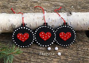 Dekorácie - Heart Chalk dots - 8728955_