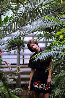 Sukne - Sukňa vyšívaná flórou - zľava - 8727225_
