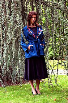 Kabáty - Letný kabát na zimu - 8727234_