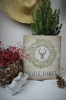 Tabuľky - Vianočná tabuľka v slovenskej verzii - 8724739_