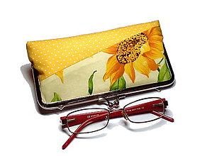 Taštičky - na okuliare /perá/ kozmetiku - 8730664_