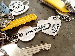 Kľúčenky - SOM TVOJA & SOM TVOJ - 8730026_
