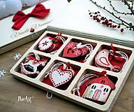 Drevené vianočné ozdoby - Retro kolekcia II.