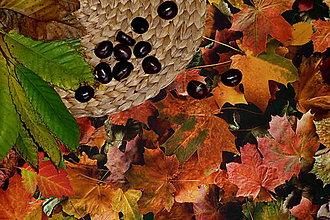 Úžitkový textil - Obrus Jesenné lístie - 8731057_