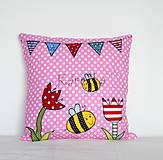 Textil - Detský bavlnený vankúšik - Rozprávkový - 8730139_