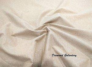 Textil - Bavlná režná s trblietkou- cena za 10 cm - 8732205_