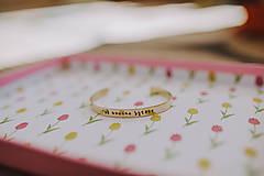 Náramky - Náramok s písaným písmom - 8730678_