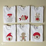 Detské oblečenie - body SOBÍK (dlhý/krátky rukáv) - 8733401_
