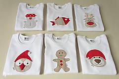 Detské oblečenie - body SOBÍK (dlhý/krátky rukáv) - 8733410_