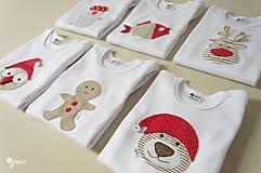 Detské oblečenie - body SOBÍK (dlhý/krátky rukáv) - 8733412_