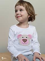 tričko NA ŽELANIE kr/dl rukáv - veľ. od 86 do 134