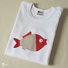 Detské oblečenie - body KAPRÍK  (dlhý/krátky rukáv) - 8733330_