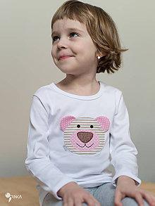 Detské oblečenie - tričko NA ŽELANIE kr/dl rukáv - veľ. od 86 do 128 - 8733722_