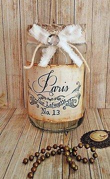 Svietidlá a sviečky - vintage svietnik - 8731444_