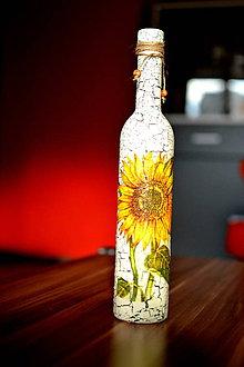 Dekorácie - Váza slnečnica - 8730168_