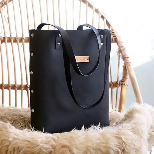Veľké tašky - Sue (black) - 8731932_