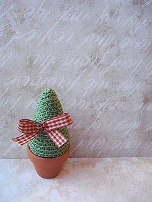 Dekorácie - Mini vianočný stromček - 8732527_
