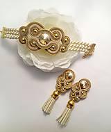 """Sady šperkov - Šujtáš náušnice a náramok - """"Jessy"""" - 8733252_"""