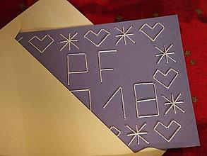 Drobnosti - Vyšívaná pohľadnica Čičmany - PF 2018 - 8732037_