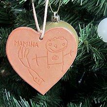 Dekorácie - Kožené vianočné ozdoby s vašim motívom - 8733738_