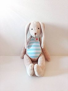 Hračky - Plyšový zajačik - 8731969_