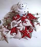 Dekorácie - Vianočné ozôbky na stromček.. - 8731512_