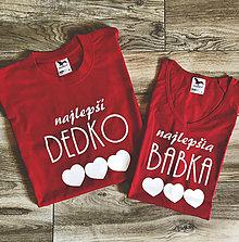 Tričká - Najlepšia Babka a Dedko - tričká pre starých rodičov - 8733852_