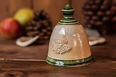 - Zvonček z keramiky s anjelíkom - 8730458_