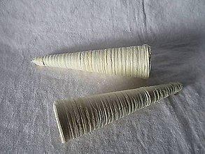Polotovary - Ratanový kornútok malý - 8734505_