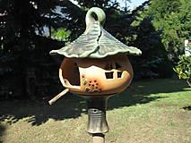 Nádoby - Krmítko pro ptáčky a noze - 8734592_